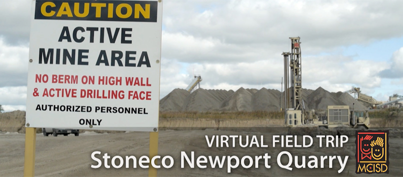 Stoneco Quarry Virtual Field Trip Overview